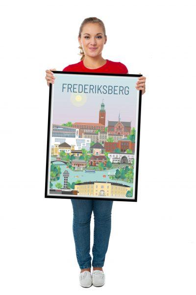 Frederiksberg plakat fra Vilakula