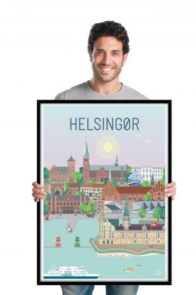 Helsingør plakat fra Vilakula