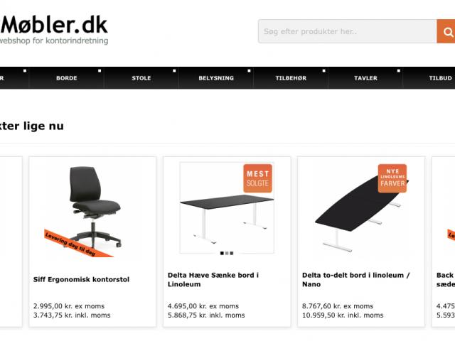 Kontormøbler.dk