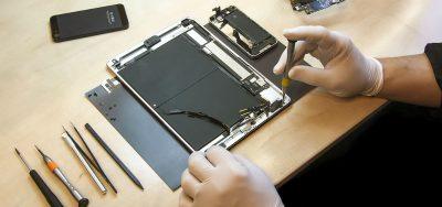 Reperation af smartphones