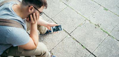 Billig skærm til smartphone