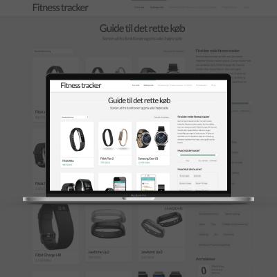 Reference: fitnesstracker.dk (affiliate side)