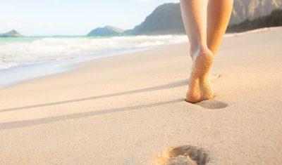 Frihed på strand - theta healing